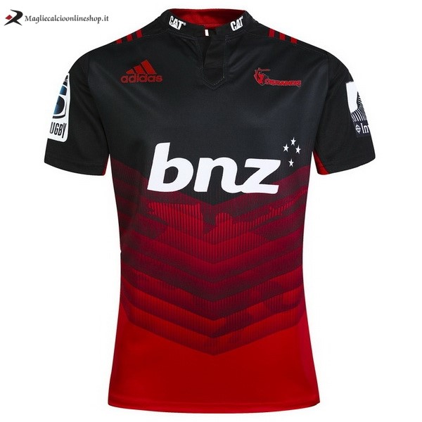 Maglia Rugby Crusaders Prima 2017/2018 Rosso