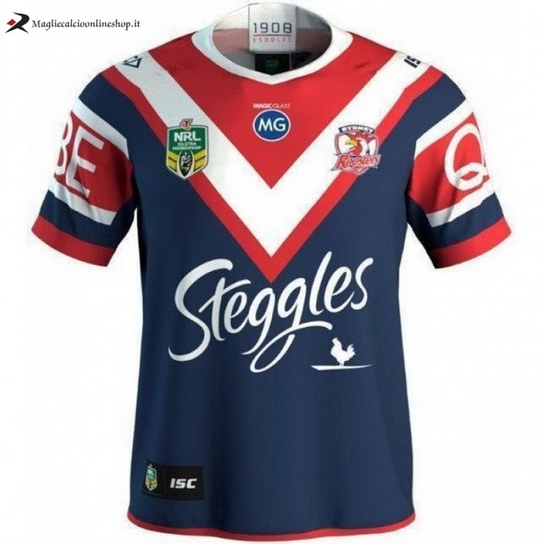 Maglia Rugby Sydney Roosters Prima 2018 Blu