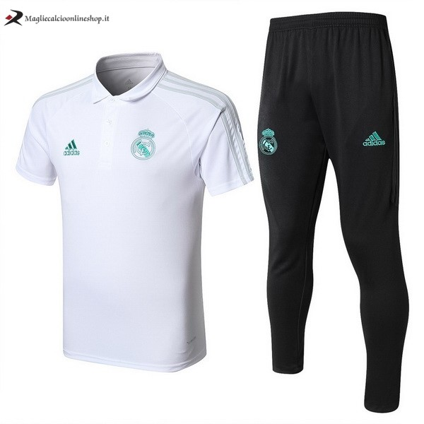 Polo Real Madrid Set Completo 2017/2018 Bianco
