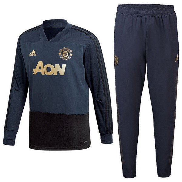 Giacca Manchester United 2018/2019 Blu Navy