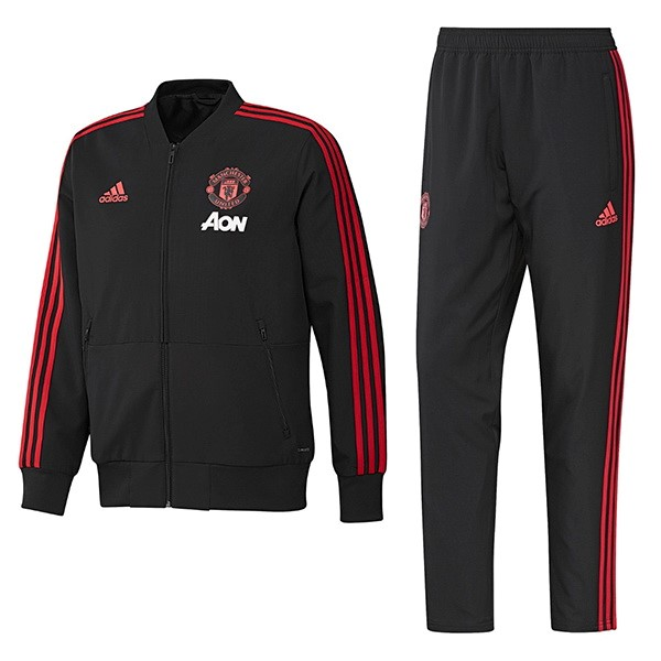 Giacca Manchester United 2018/2019 Nero Rosso