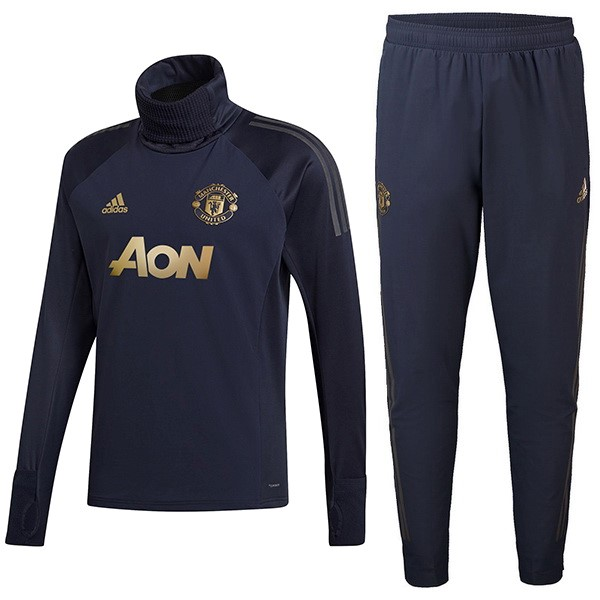 Giacca Manchester United 2018/2019 Blu Oro