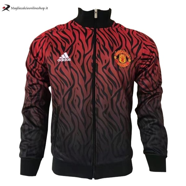 Giacca Manchester United 2017/2018 Rosso Nero